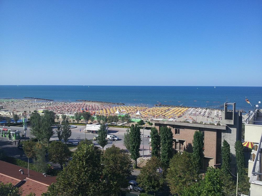 vista mare hotel euromar rimini